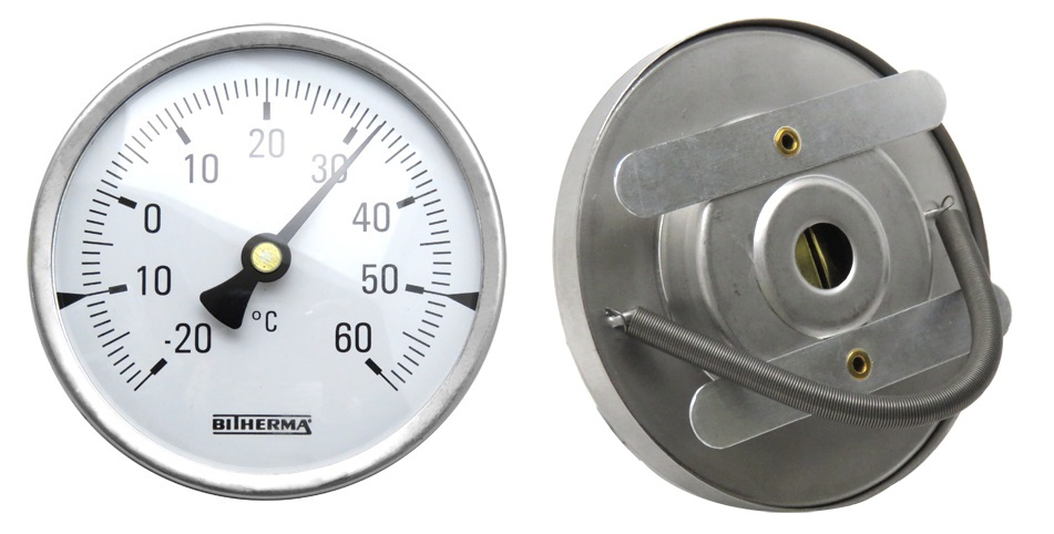 Pipe-Clamp Surface Thermometer #BT-SM