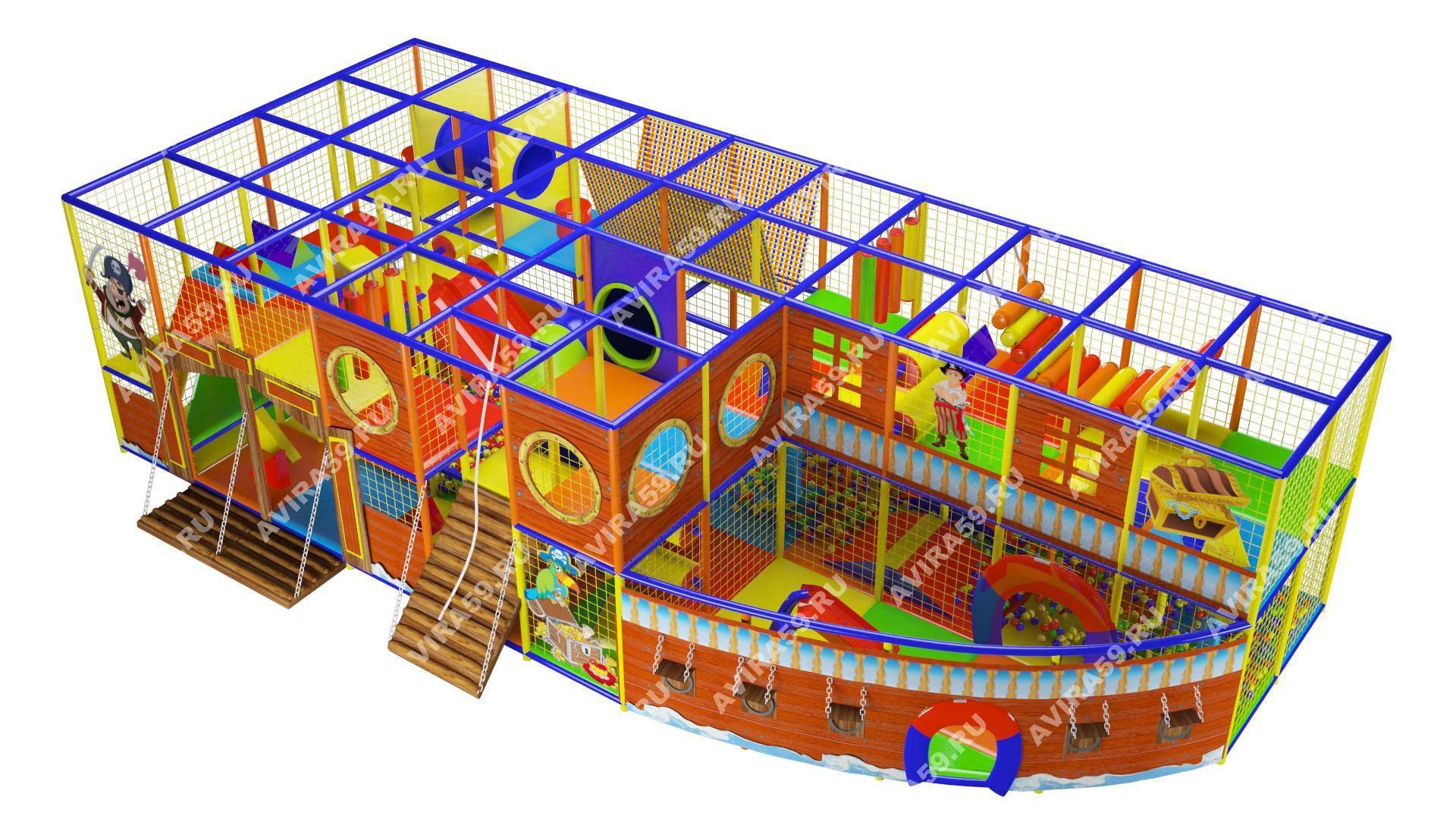 Indoor playground Pirate Ship