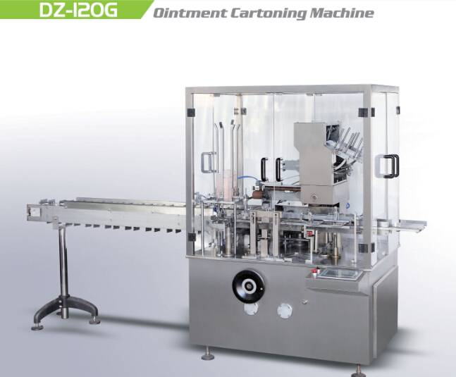 New Style Ointment Cartoning Machine