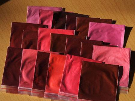 Wholesale mica ferrous metal color series