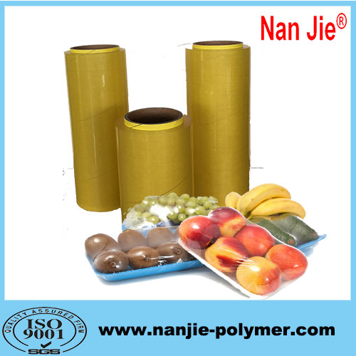 Nan Jie moisture proof pvc food wrap film rolls price