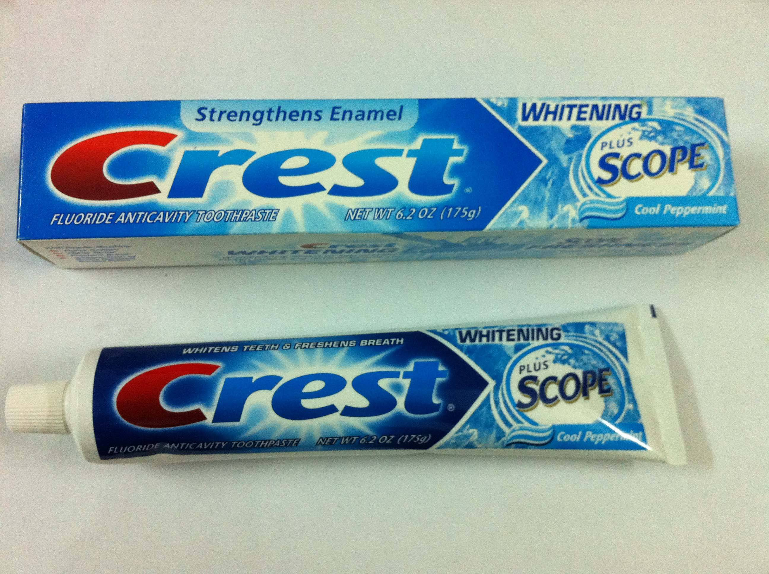 crest toothpaste weaknesses and strengths