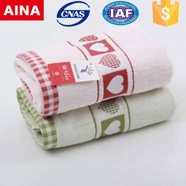 China Top 10 towels' supplier high quality 100% cotton Plain weave customized gym towel