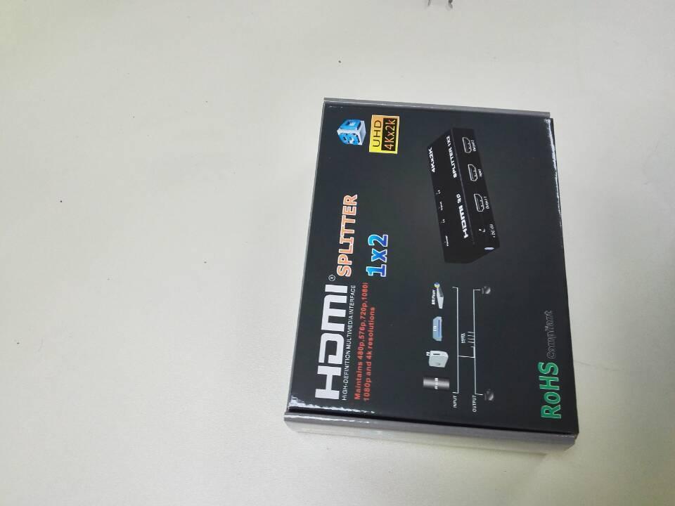 HDMI Splitter 1x2  Support 4K*2K  3D