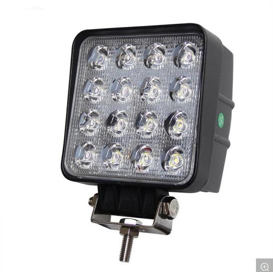 Portable 48W Amber White Tractor LED 12V Head Light Car LED Work Lights