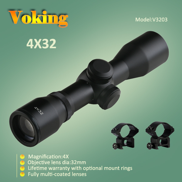 Voking 4X32 magnifier scope with your own APP