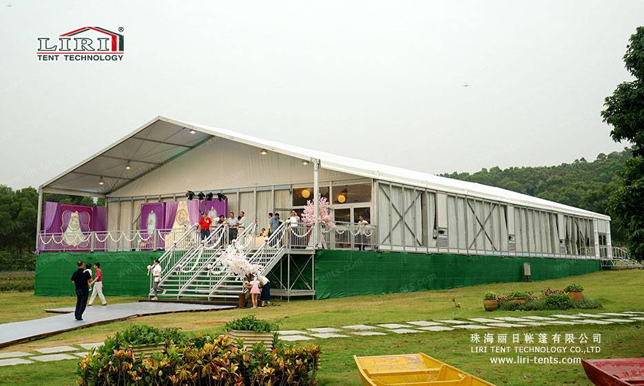 500 People Luxury Wedding Marquee for Weddings and Parties
