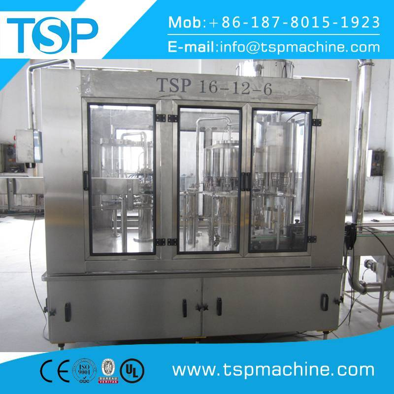 Full autoamtic carbonated beverage filling machine/ soda water bottling production line