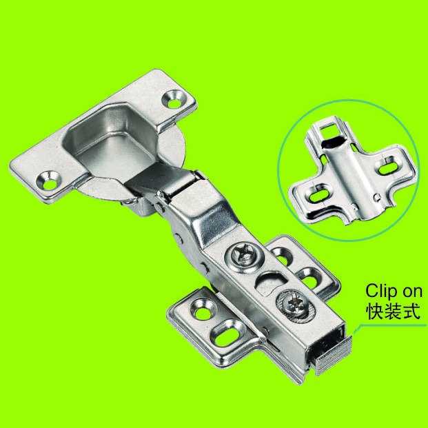 hot sales soft closing hydraulic hinge 35 cup half overlay hinge