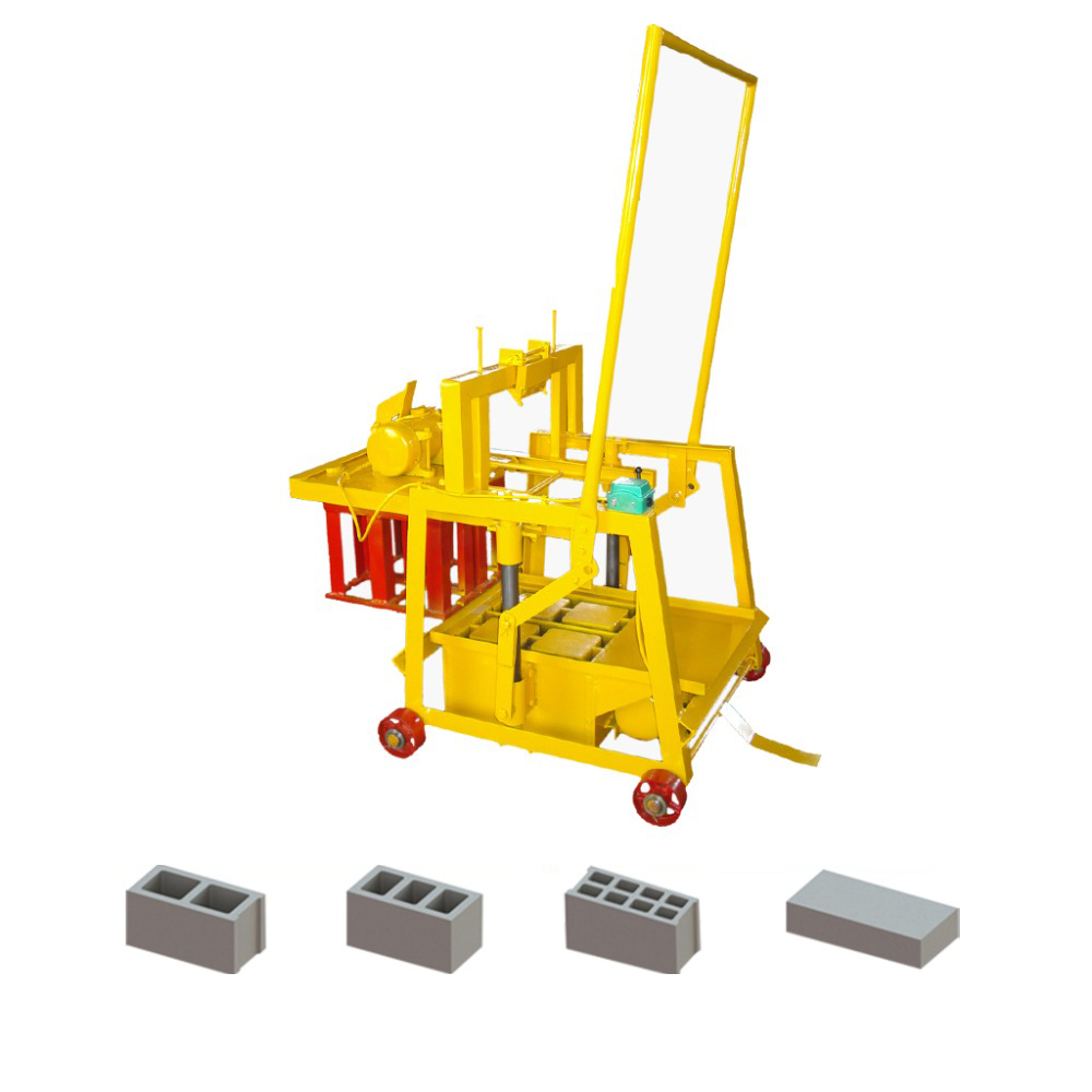 QMY2-45 egg laying concrete hollow block making machine in Philippines