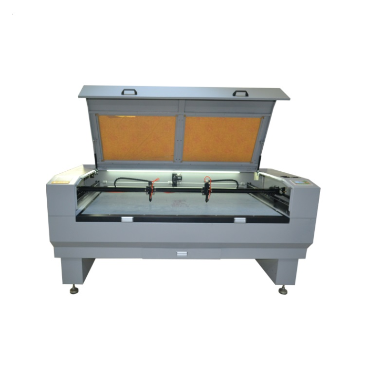 double Laser heads co2 laser cutting machine,laser engraving machine 1810/150W