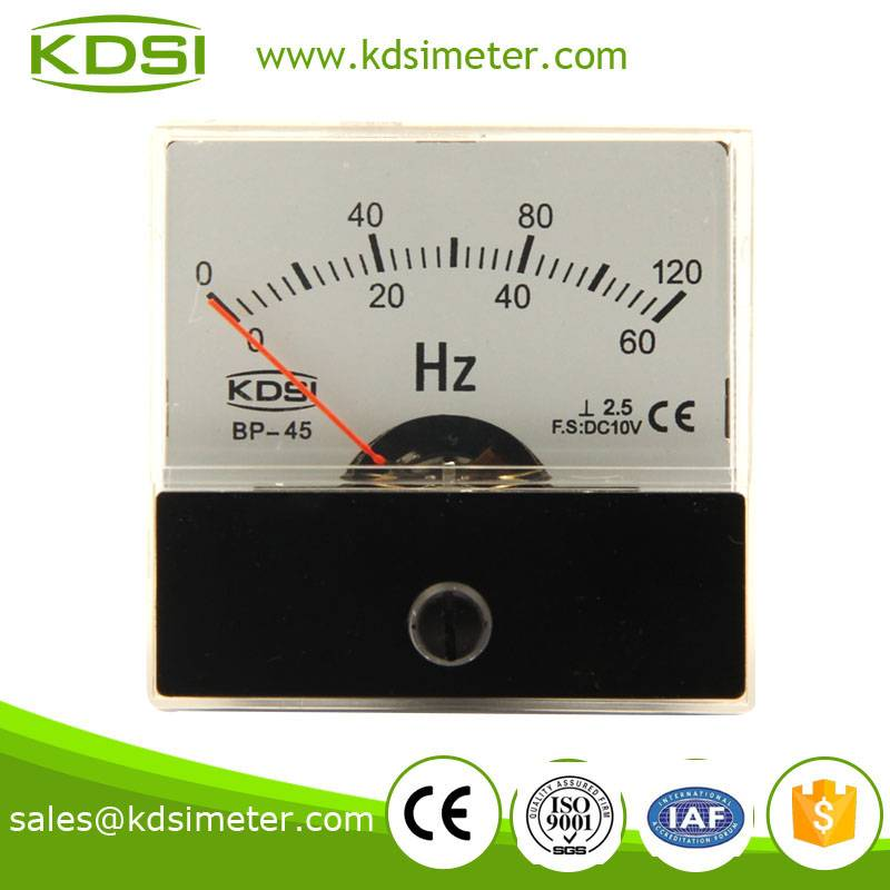 High quality professional BP-45 DC10V 60HZ voltage frequency meter