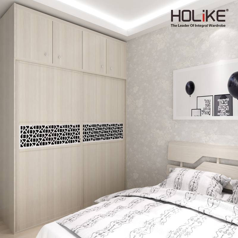 2016 hot sale sliding doors wardrobe for apartment project