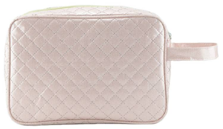 New arrival Ultrasonic Nonwoven white cosmetic bag for ladies