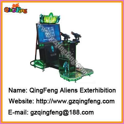 Simulator game machines