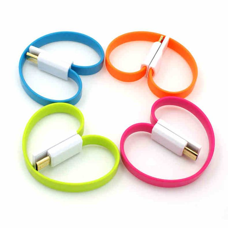 General short colorful magnetic USB 2.0 cable