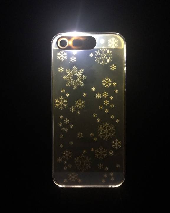 Flashing case for iphone5/5s