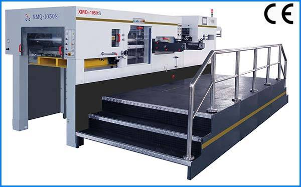 XMQ-1050S high precision Silver Metallized Beer Label cutting machine