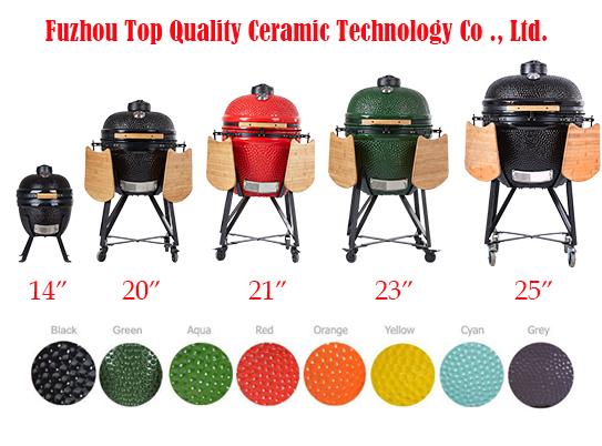 TOPQ Ceramic BBQ Grill