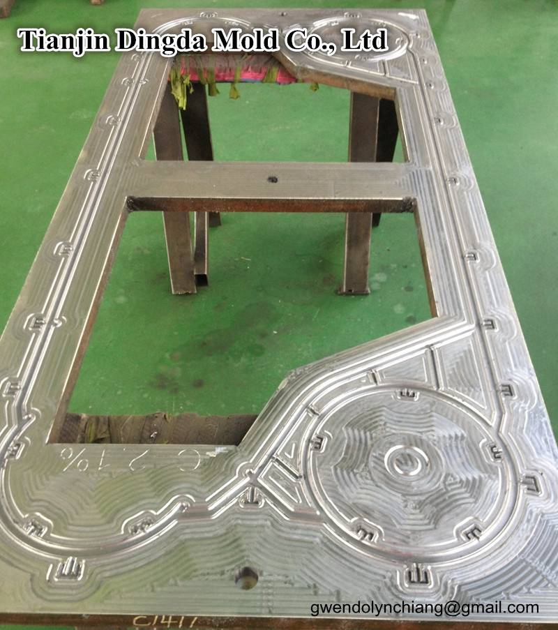 Plate Heat Exchanger mould for rubber gasket