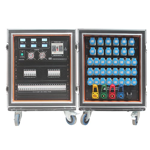 Power distro for event solution and equipment rental