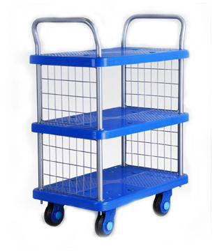 Silent Cart for Library/Hotel/Reception Use
