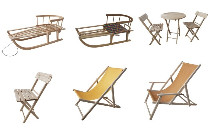 Outdoor wooden products