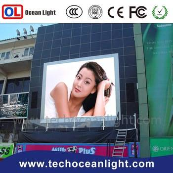 waterproof led module 2015 P10 standing outdoor LED