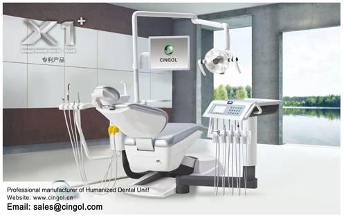 Foshan Cingol humanized dental unit chairs dental equipment X1 plus