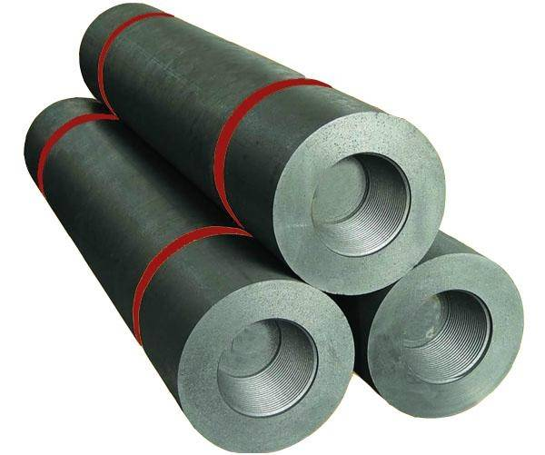 High mechanical strength RP graphite electrode for sale