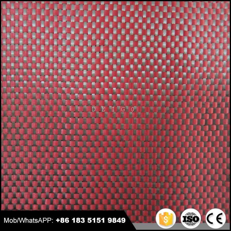 3k carbon kevlar hybrid fabric