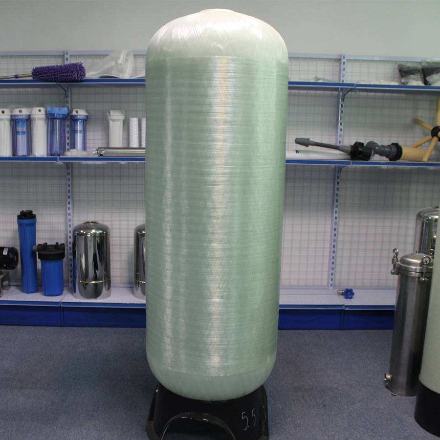 Vertical high corrosion resistance FRP vessel tank for printing and dyeing industry