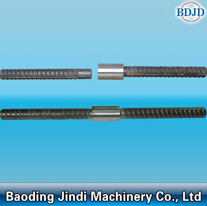 carbon steel material rebar jointing coupler/construction connecting rebar coupler