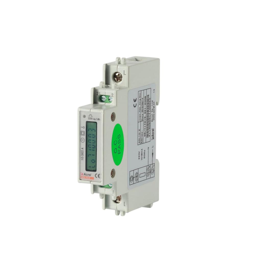 ACREL DDS1352 LCD display single phase smart meter 1 phase DIN rail energy metering DIN rail install