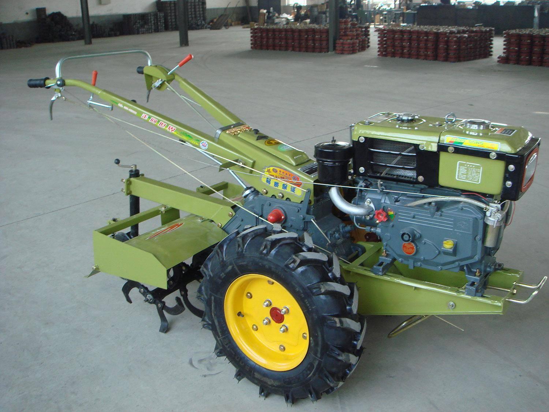 walking tractor, power tiller, hand tiller, hand tractor