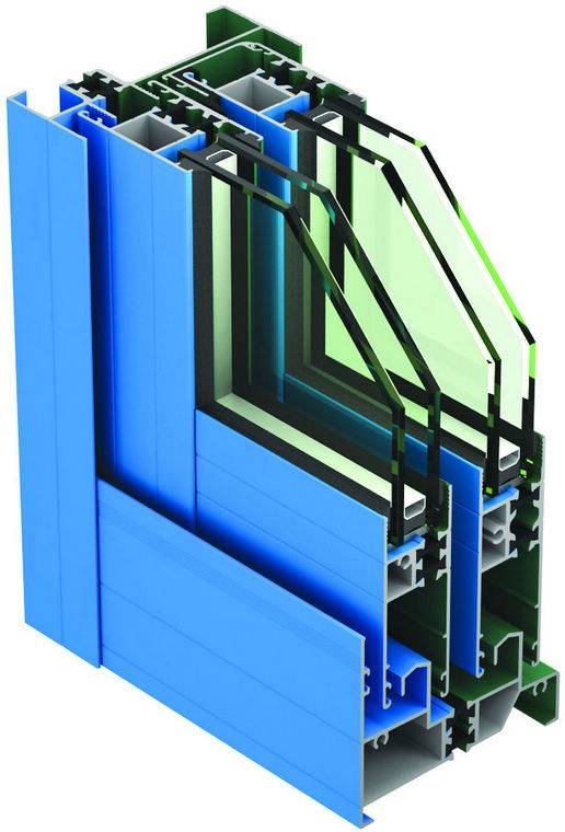 Thermal Insulation Aluminium Profile For Window (HY-2006)