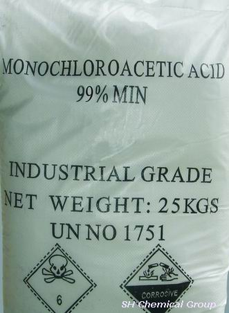 Chloroacetic acid (CAS NO.:79-11-8)