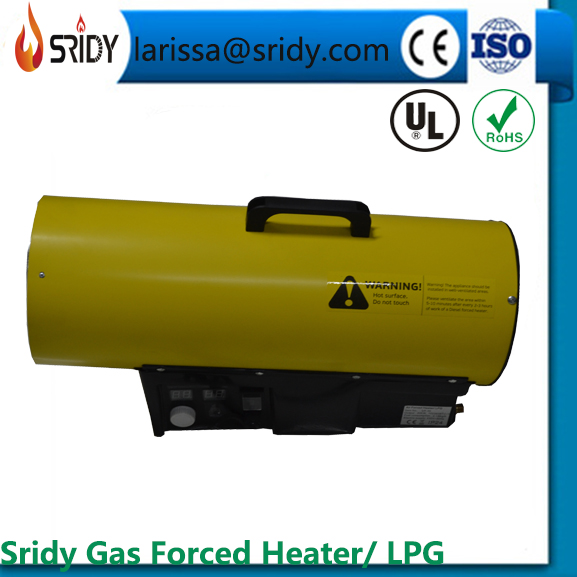 50kw Propane Gas LPG Portable Space Garage Industrial Fire Heater Forced Air Propane Portable Heater