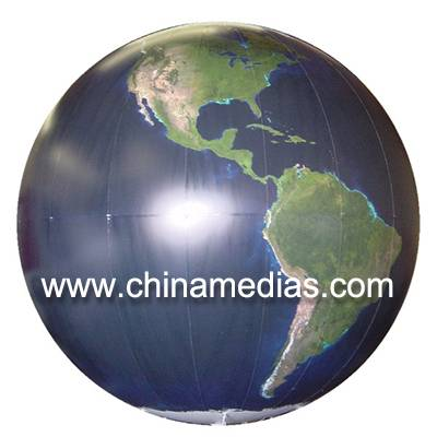 Customized Fireproof and Waterproof Sun Earth Balloons Globe with Total Digital Printing