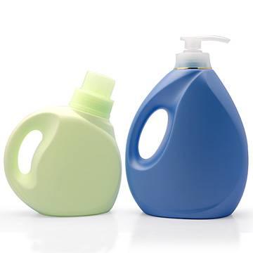 Plastic Detergent Bottles, Softener Bottle