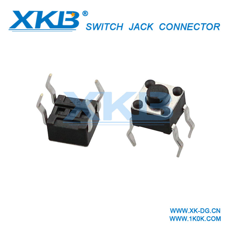 12V 2Pin Micro Normally Closed Tact Push Button Switch with Side Operational Actuator