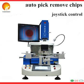 Semi-auto Low cost bga machine WDS-620 for laptop mobile phone ps3 motherboards repair