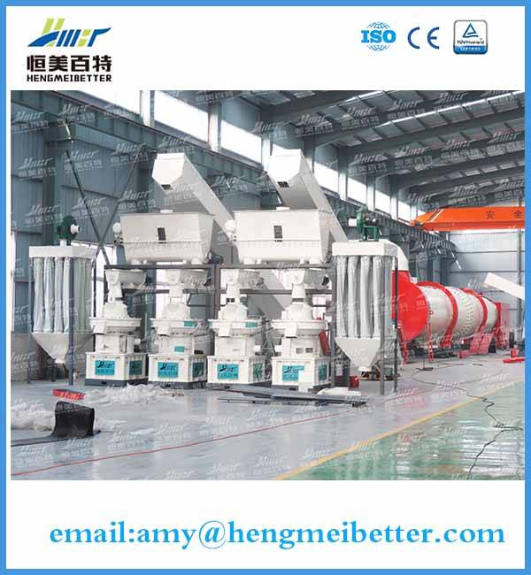high yield sawduct pellet machine with CE