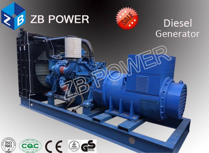 Low Fuel Consumption100KW Generator Powered by Cummins