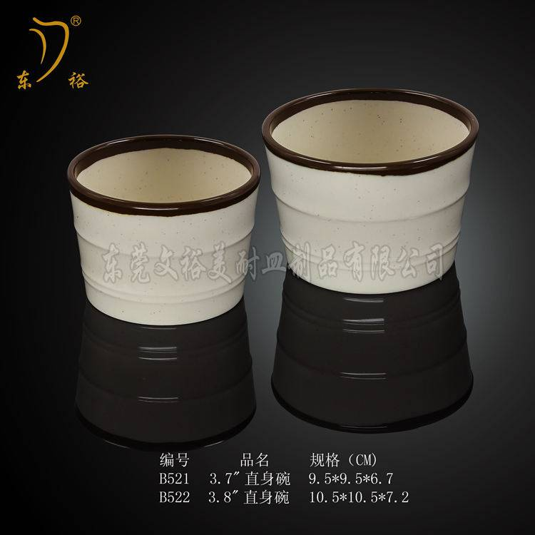 100% melamine cups plastic cups for cafe for restaurant