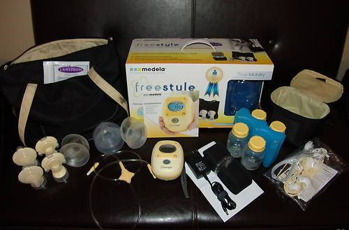 Medela Freestyle with Box, NEW Components + Extras