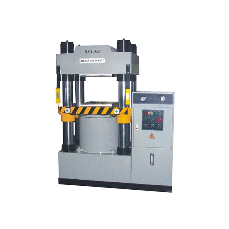 500T Four Column Hydraulic Press for Spectacle Parts