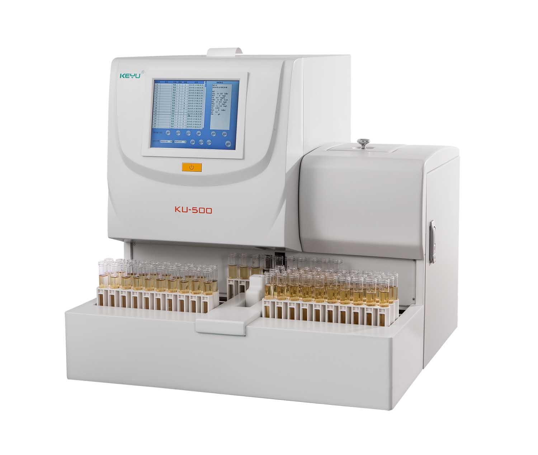 CE ISO FSC approved KU-500 fully automatic dry chemistry urine analyzer