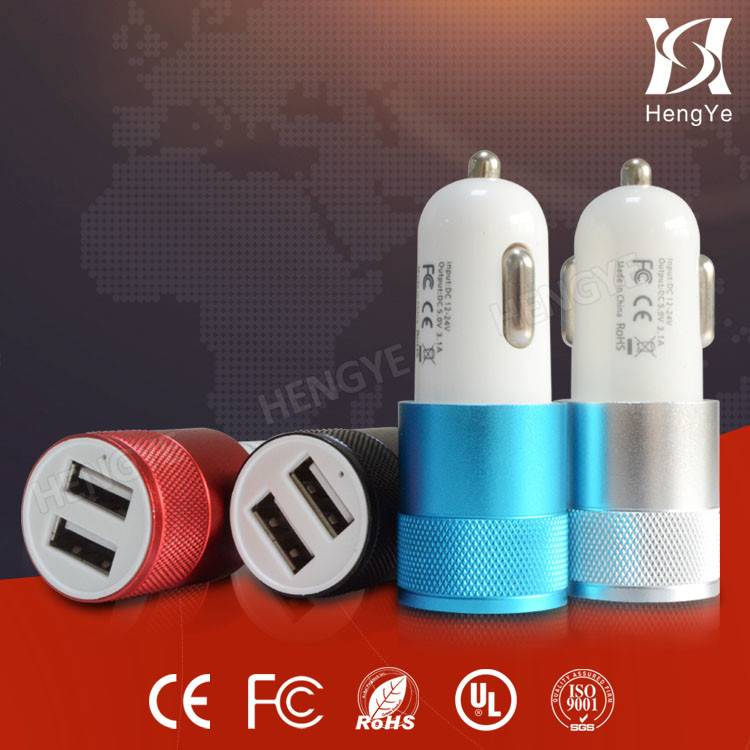 New 3.1A Dual USB Car Charger