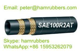 SAE 100R2AT/DIN EN853 2SN Wire Braided Hydraulic Hose